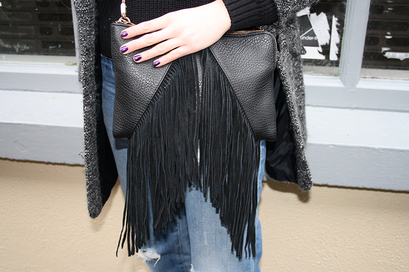 topshop fringe handbag