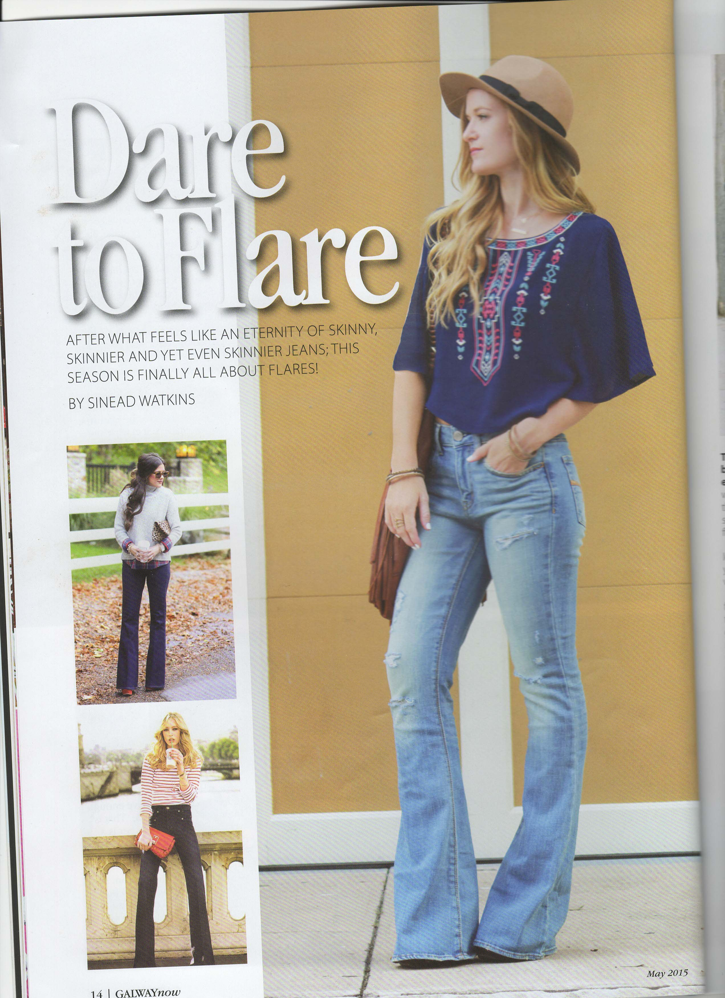 flare jeans fashion